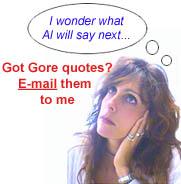 Al Gore Quotes stupid quotes
