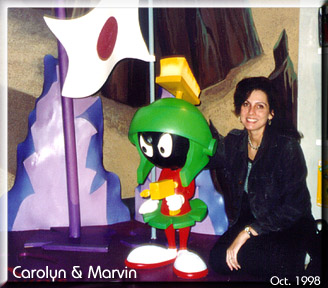 Marvin the Martian and Me!